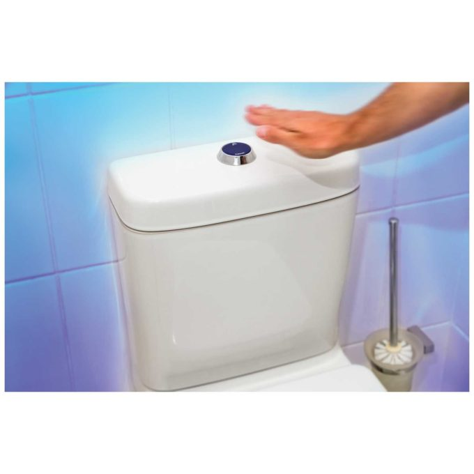 Jollytronic + MW2 Infra red flush sensor and 2 inch MW2 Dual Flush Mechanism