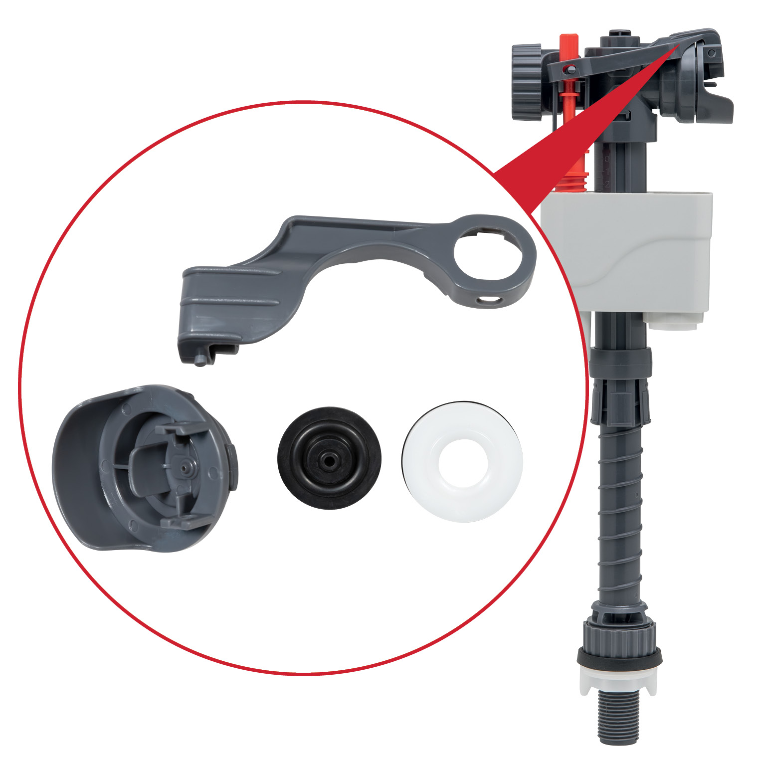 Flush spares and accessories