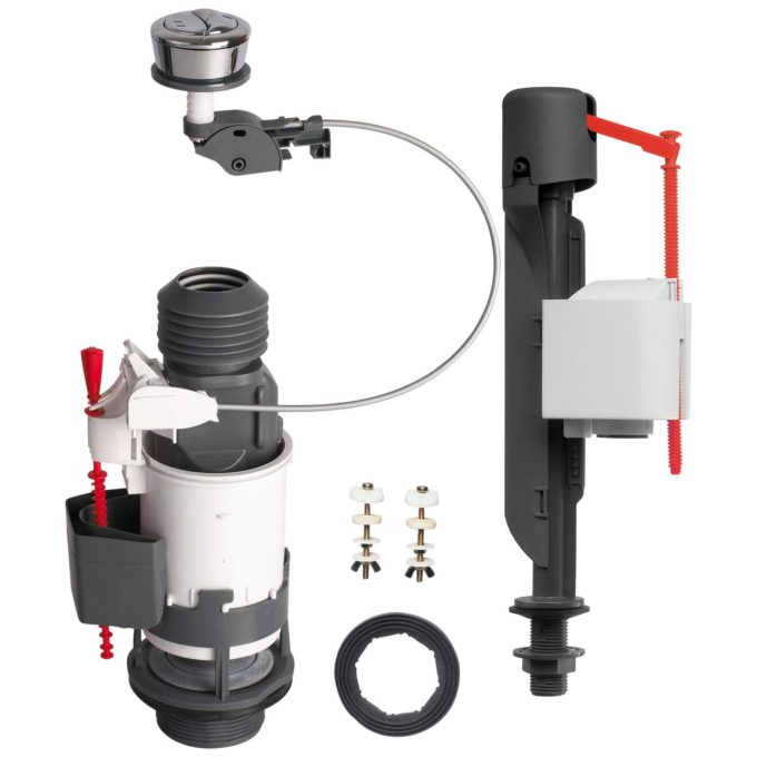 MW2 Extendable + Jollyfill Bi 2 inch Dual flush kit