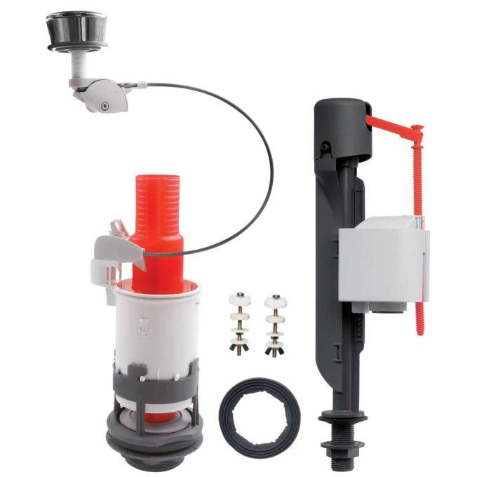 MD + Jollyfill Bottom Inlet Top Flush, Single Flush, CC BIBO Mechanism