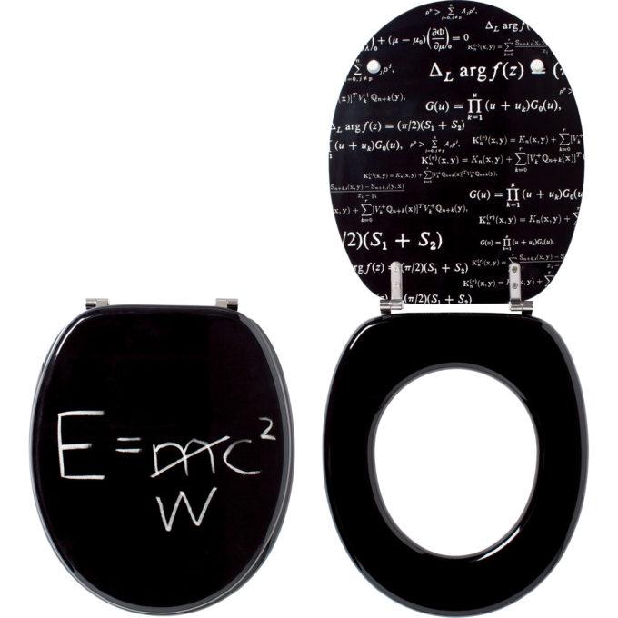 E = WC2 – TRENDY LINE Toilet Seat – MDF, SS Hinge