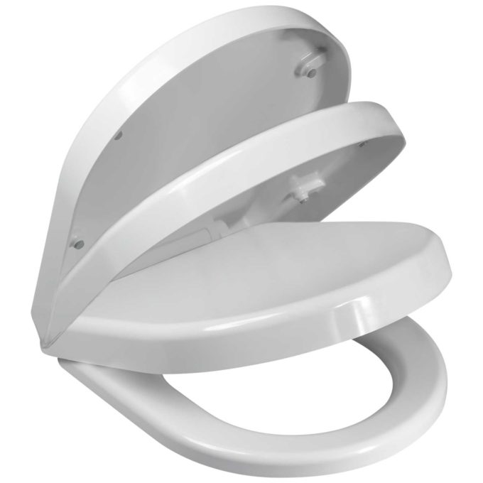 D-1 Toilet Seat – Soft Close hinge