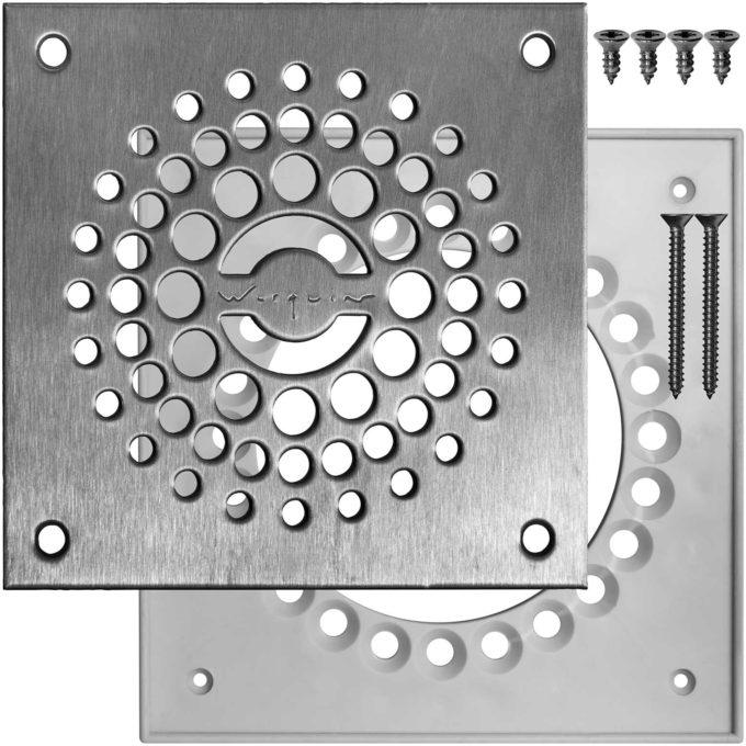 Twisto 2 Shower Plate Set + Screws