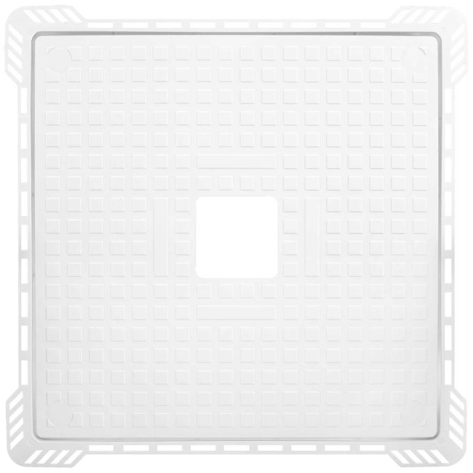 TILEABLE Bath Inspection Hatch White PVC
