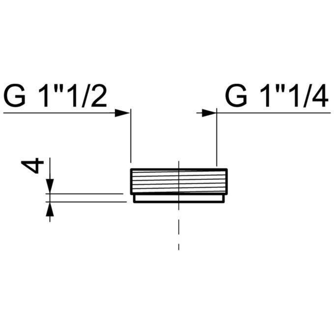 Reducing Adaptor Rigid Pvc (40-32mm)